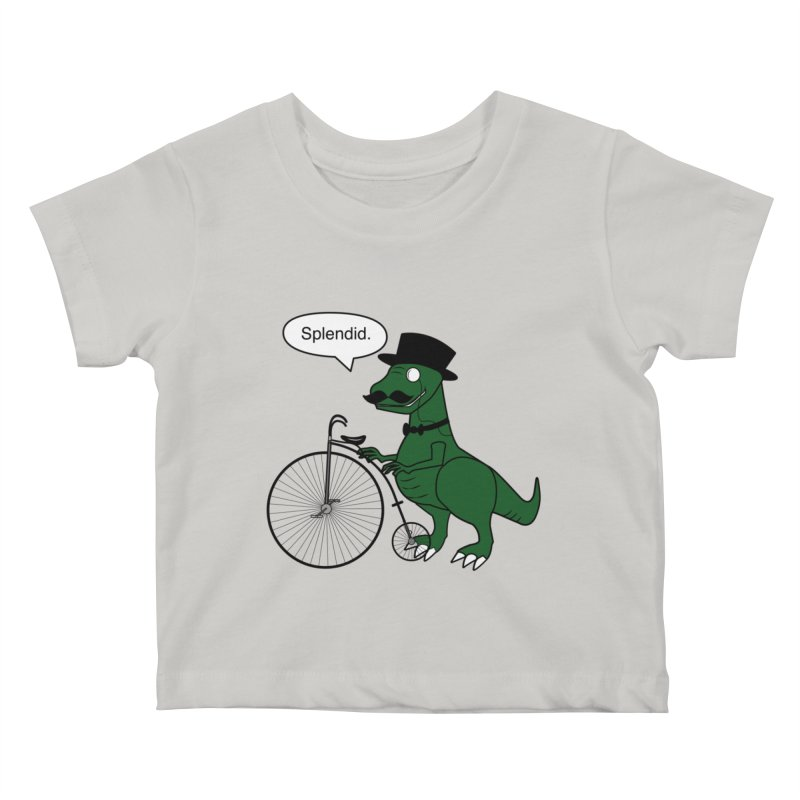 Splendid Find Kids Baby T-Shirt by Slugamo's Threads