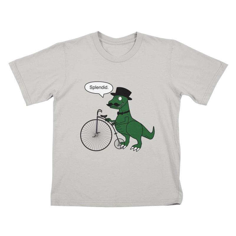 Splendid Find Kids T-Shirt by Slugamo's Threads