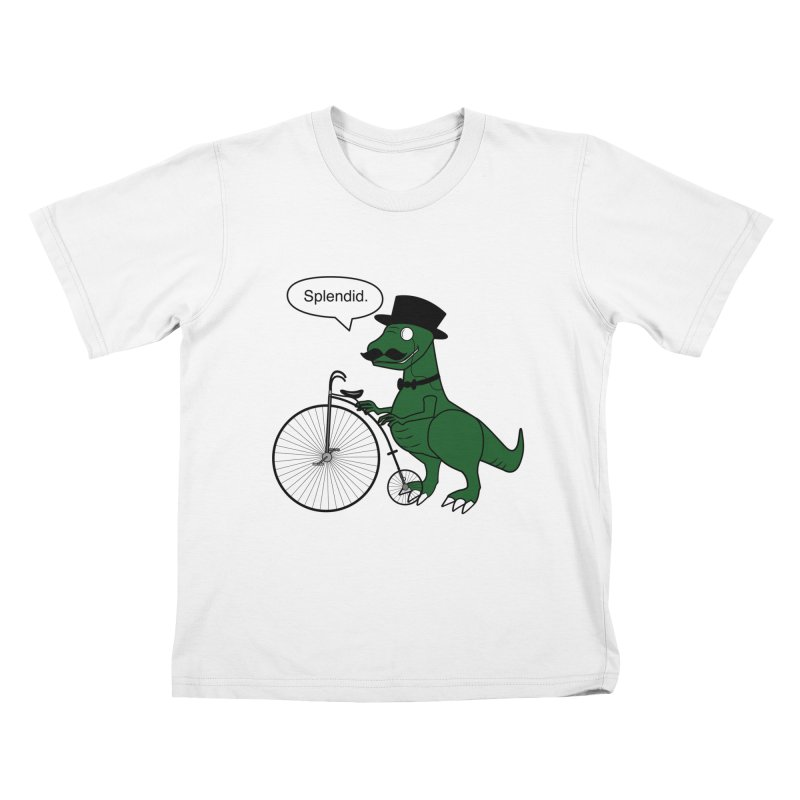 Splendid Find Kids T-shirt by Slugamo's Threads