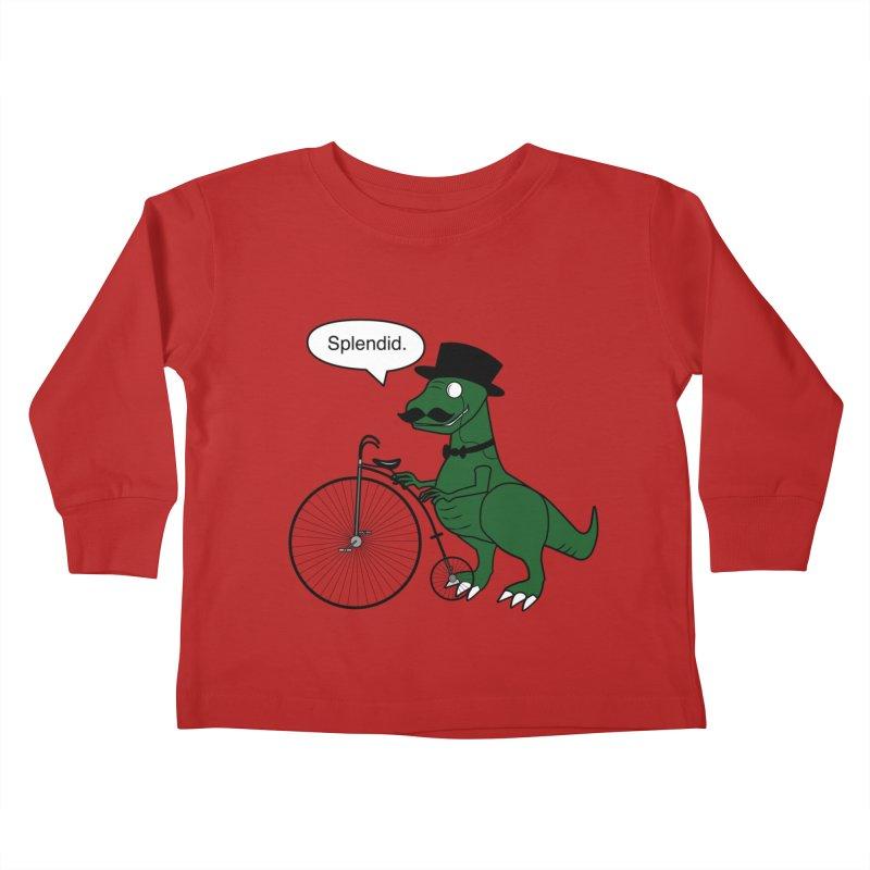 Splendid Find Kids Toddler Longsleeve T-Shirt by Slugamo's Threads