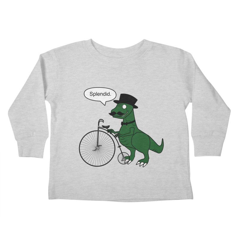 Splendid Find Kids Toddler Longsleeve T-Shirt by Slugamo's Threads