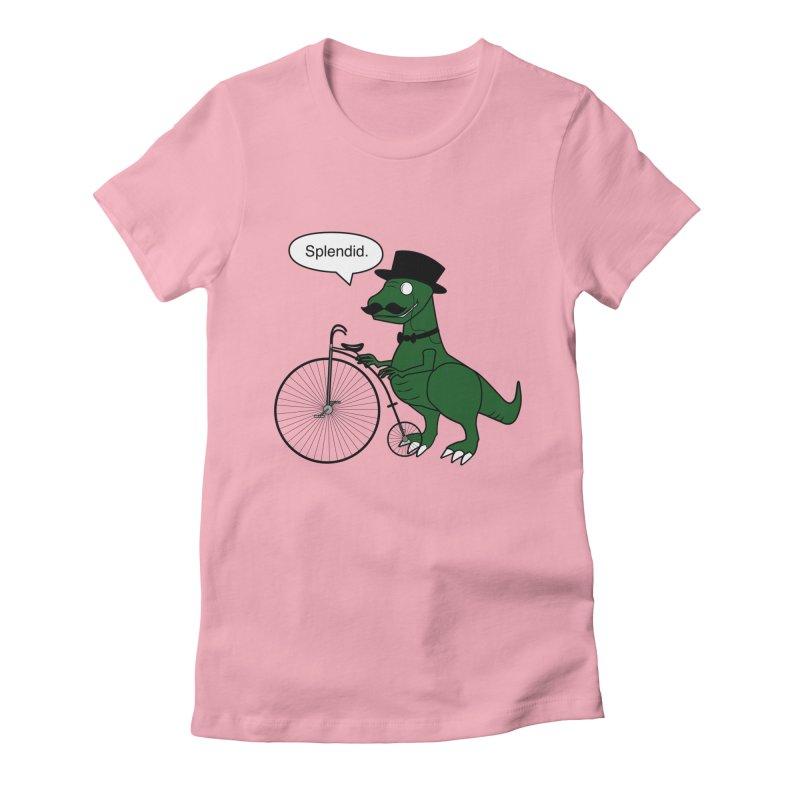 Splendid Find Women's Fitted T-Shirt by Slugamo's Threads