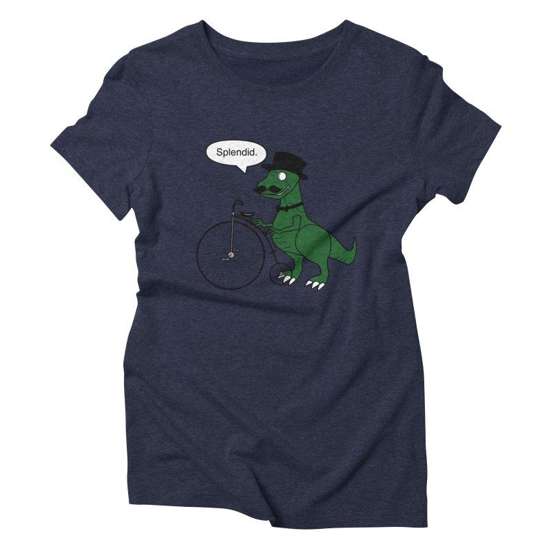 Splendid Find Women's Triblend T-shirt by Slugamo's Threads