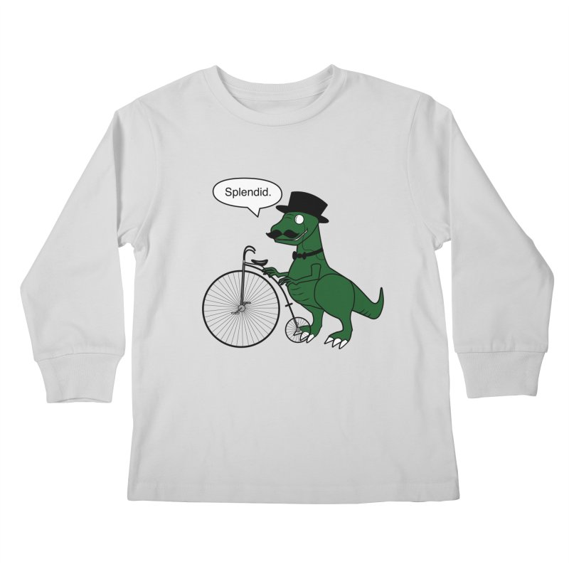 Splendid Find Kids Longsleeve T-Shirt by Slugamo's Threads