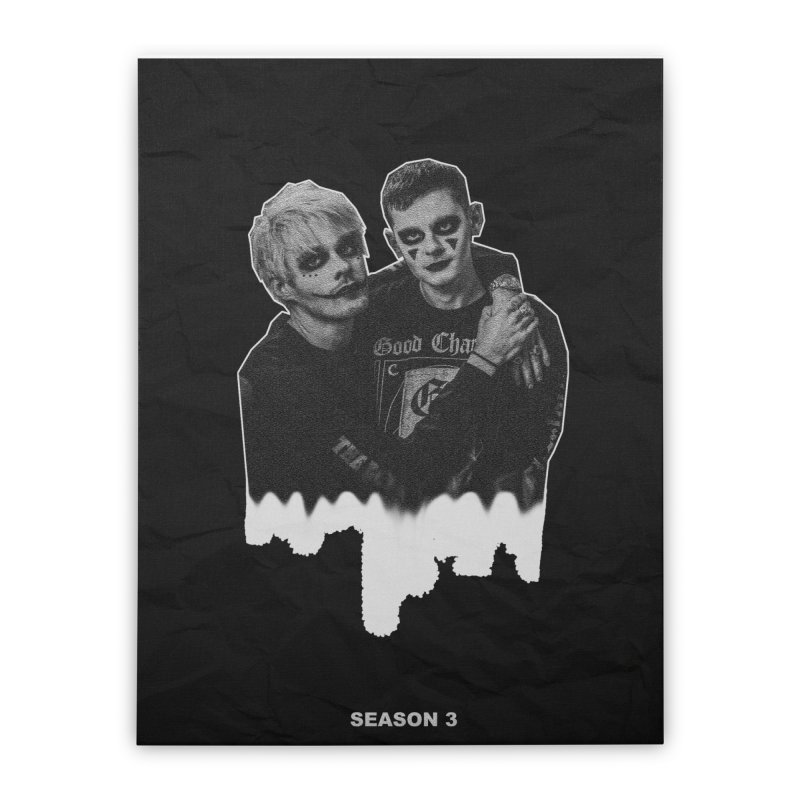 Slumber Party Season 3 Poster in Stretched Canvas by Awsten + Travis' Slumber Party