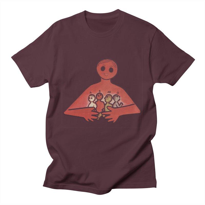 A-B-AB-O Men's T-Shirt by Slum Summer Merchandise