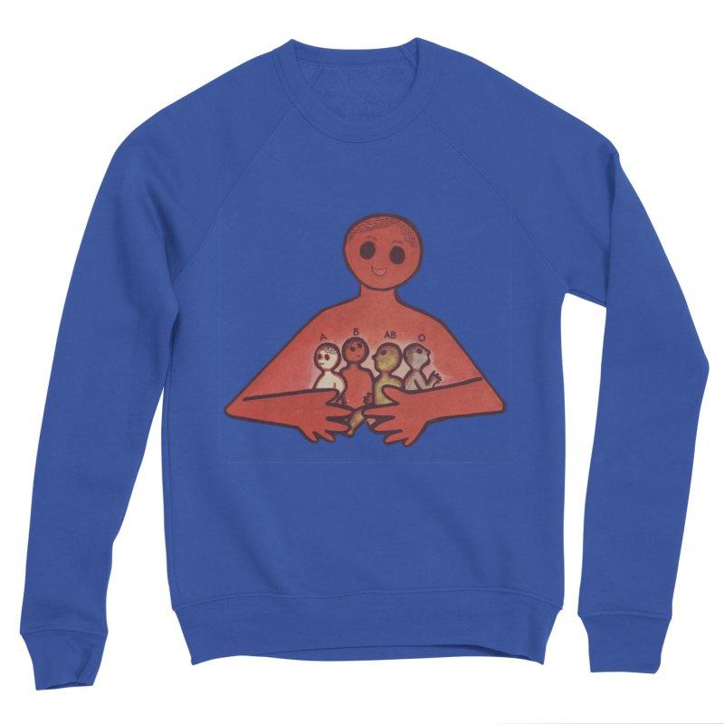 A-B-AB-O Men's Sweatshirt by Slum Summer Merchandise