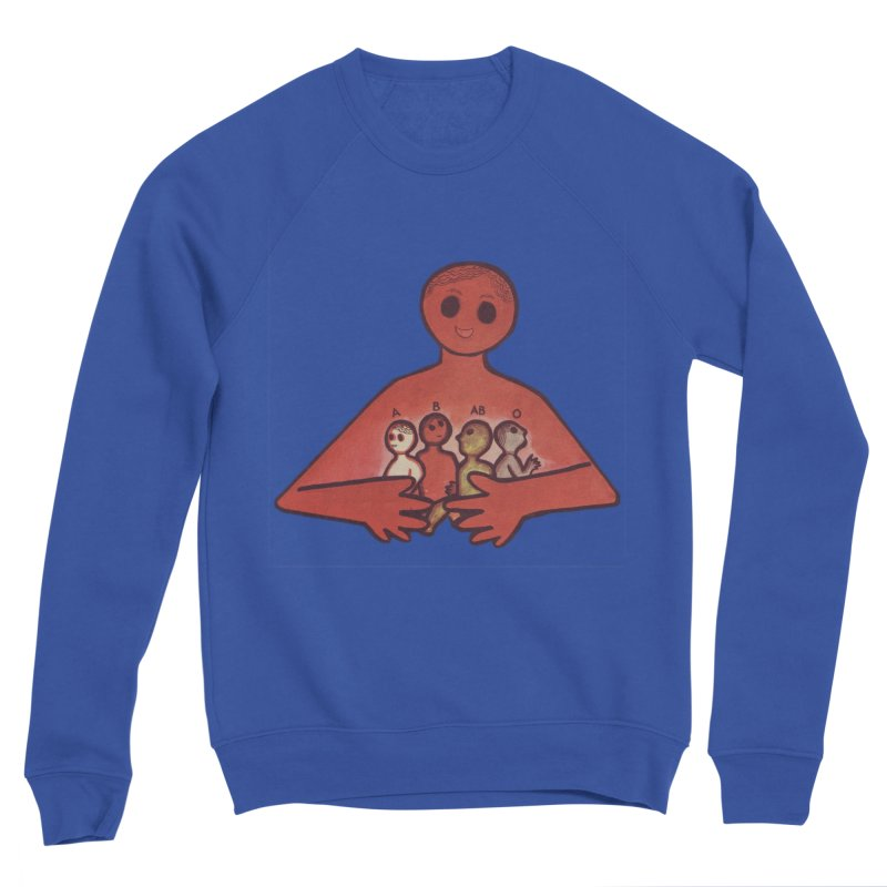 A-B-AB-O Men's Sponge Fleece Sweatshirt by Slum Summer Merchandise