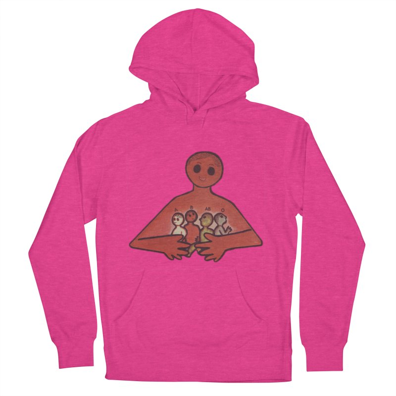 A-B-AB-O Men's French Terry Pullover Hoody by Slum Summer Merchandise