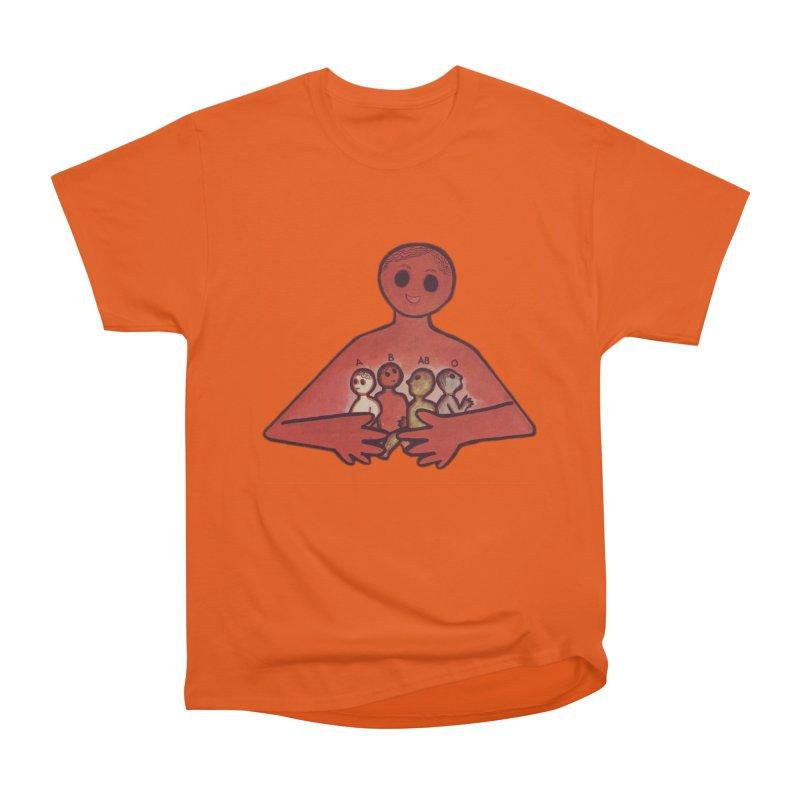 A-B-AB-O Men's Heavyweight T-Shirt by Slum Summer Merchandise