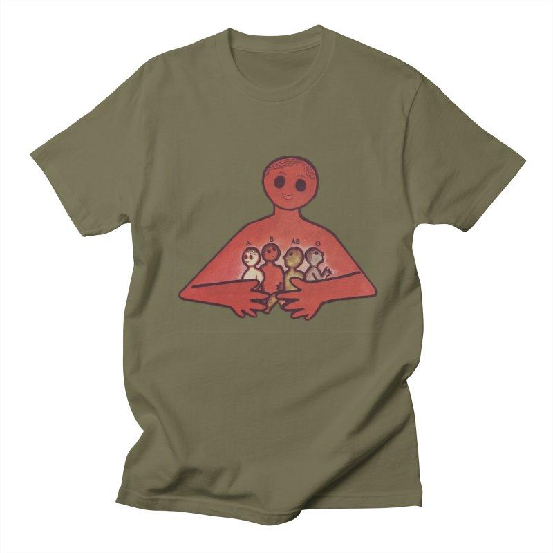 A-B-AB-O Men's Regular T-Shirt by Slum Summer Merchandise