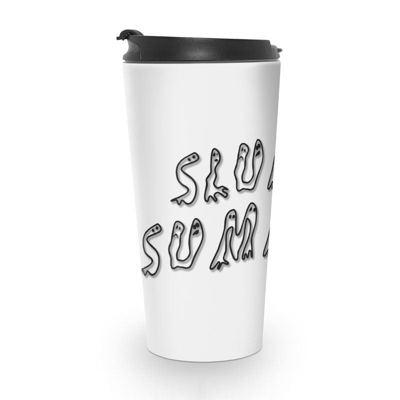 Stacked Black Text w/Shadow Accessories Mug by Slum Summer Merchandise