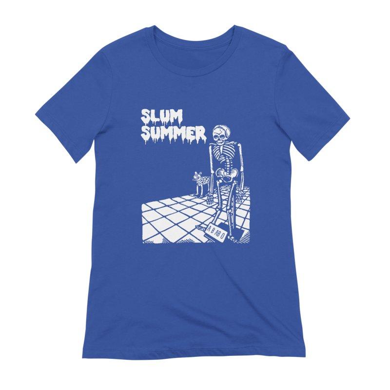 Skeleton ABABO Women's Extra Soft T-Shirt by Slum Summer Merchandise