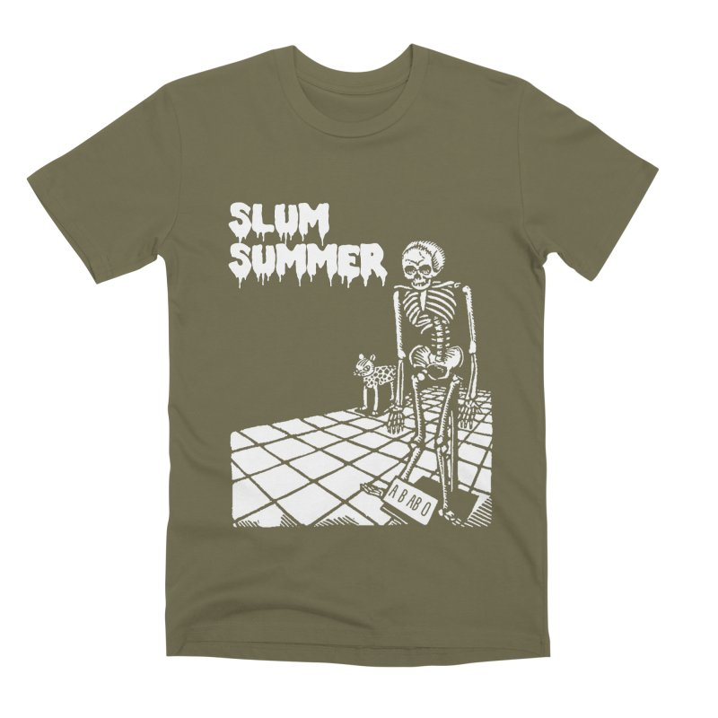 Skeleton ABABO Men's Premium T-Shirt by Slum Summer Merchandise