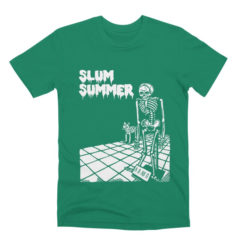 Skeleton ABABO Men's Premium T-Shirt by Slum Summer Merchandise