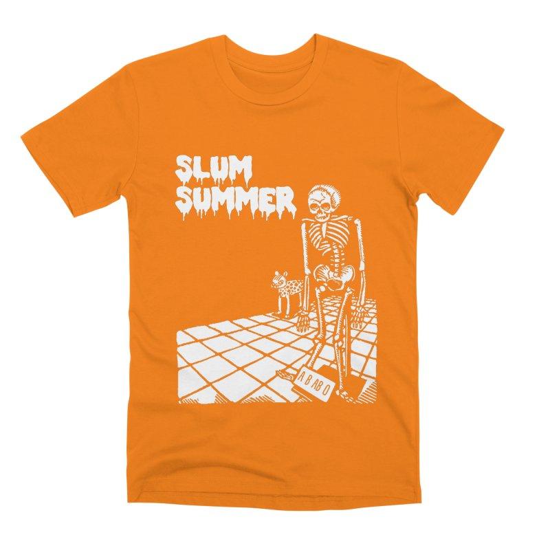 Skeleton ABABO Men's T-Shirt by Slum Summer Merchandise
