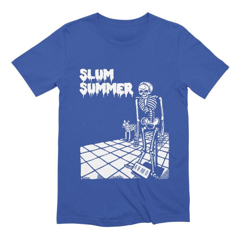 Skeleton ABABO Men's Extra Soft T-Shirt by Slum Summer Merchandise
