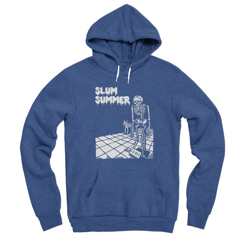 Skeleton ABABO Men's Pullover Hoody by Slum Summer Merchandise