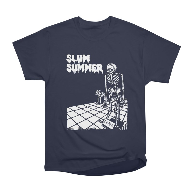 Skeleton ABABO Women's Heavyweight Unisex T-Shirt by Slum Summer Merchandise