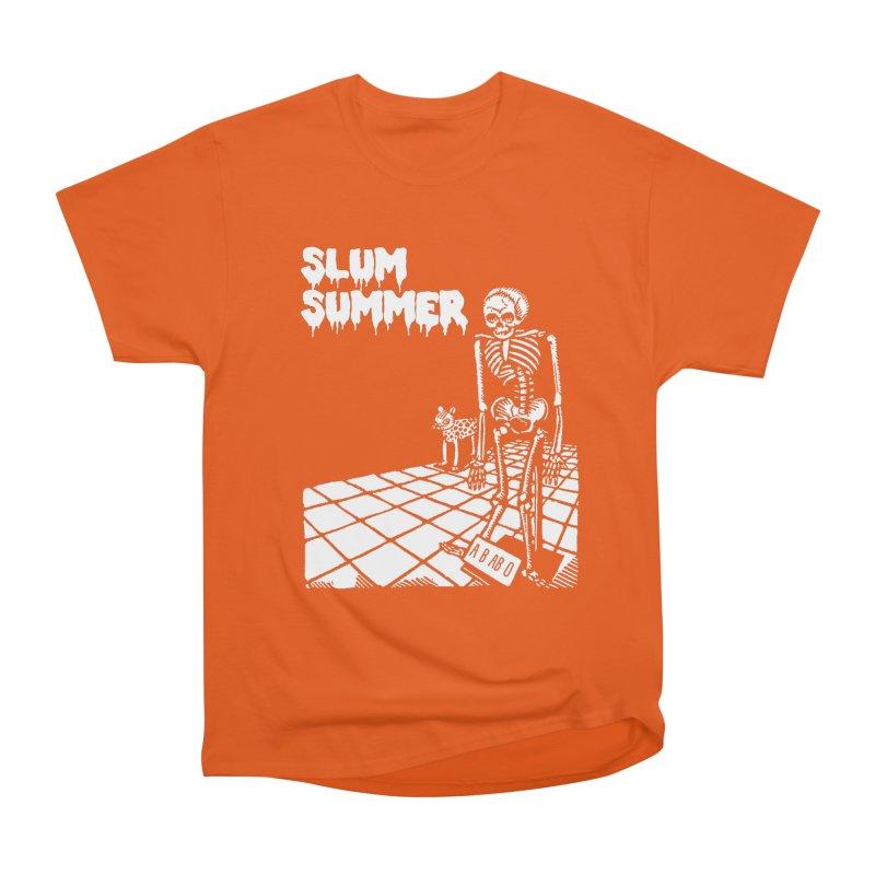 Skeleton ABABO Men's Heavyweight T-Shirt by Slum Summer Merchandise