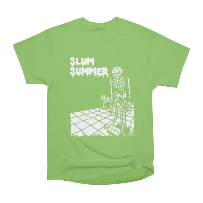 Skeleton ABABO Women's Heavyweight Unisex T-Shirt by Slum Summer Merchandise