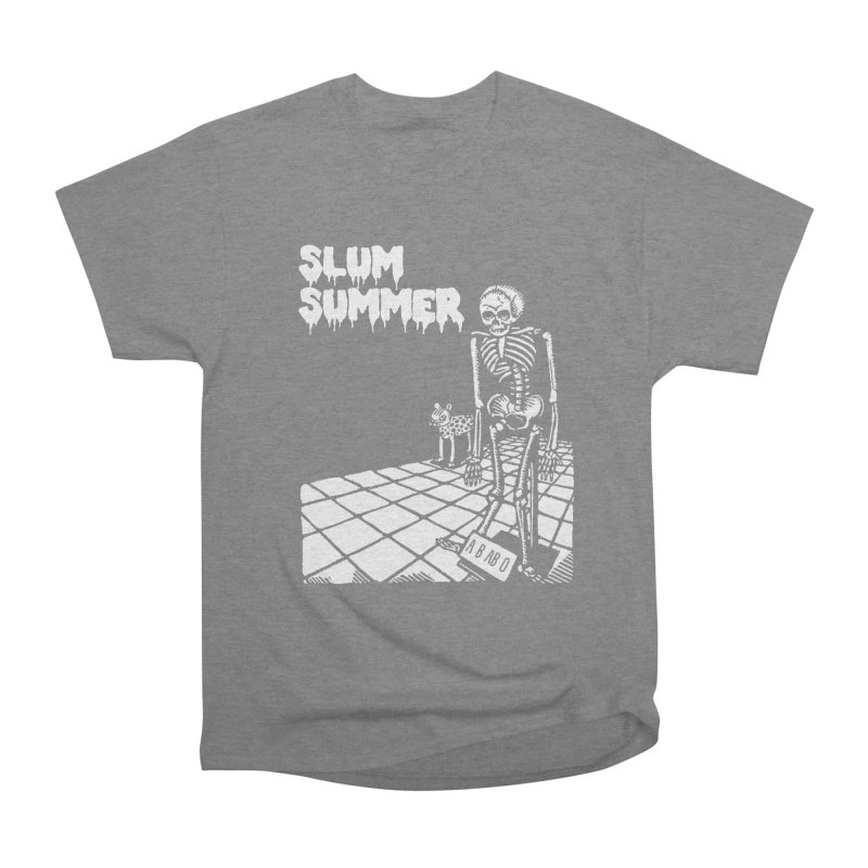 Skeleton ABABO Men's Heavyweight T-Shirt by Slum Summer Merchandise