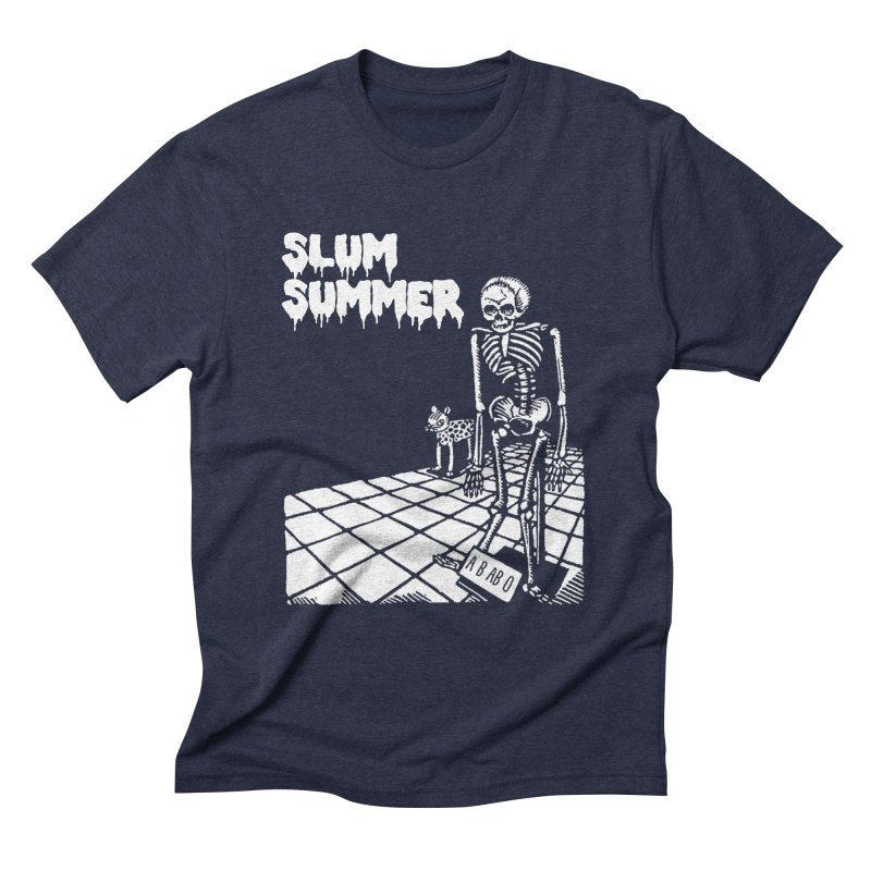 Skeleton ABABO Men's Triblend T-Shirt by Slum Summer Merchandise