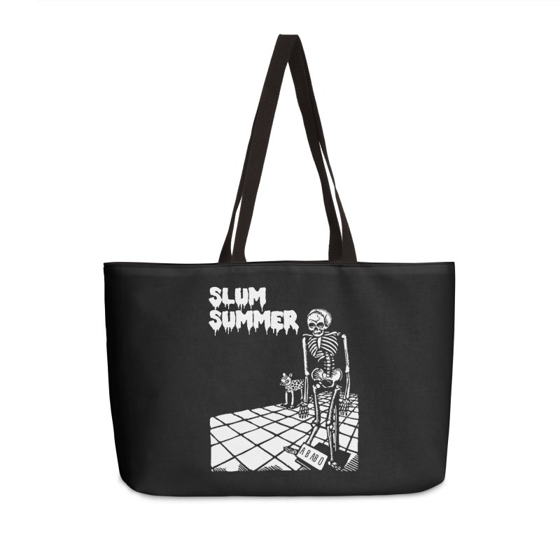 Skeleton ABABO Accessories Weekender Bag Bag by Slum Summer Merchandise