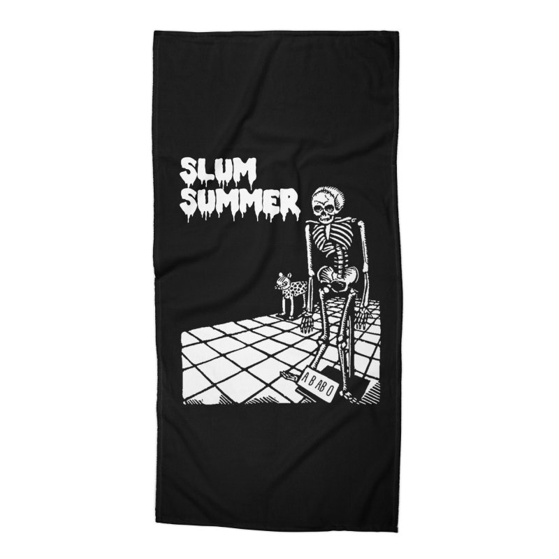 Skeleton ABABO Accessories Beach Towel by Slum Summer Merchandise