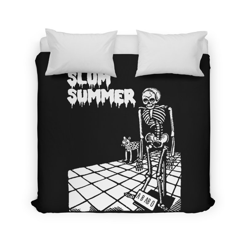Skeleton ABABO Home Duvet by Slum Summer Merchandise
