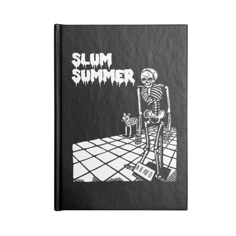 Skeleton ABABO Accessories Lined Journal Notebook by Slum Summer Merchandise