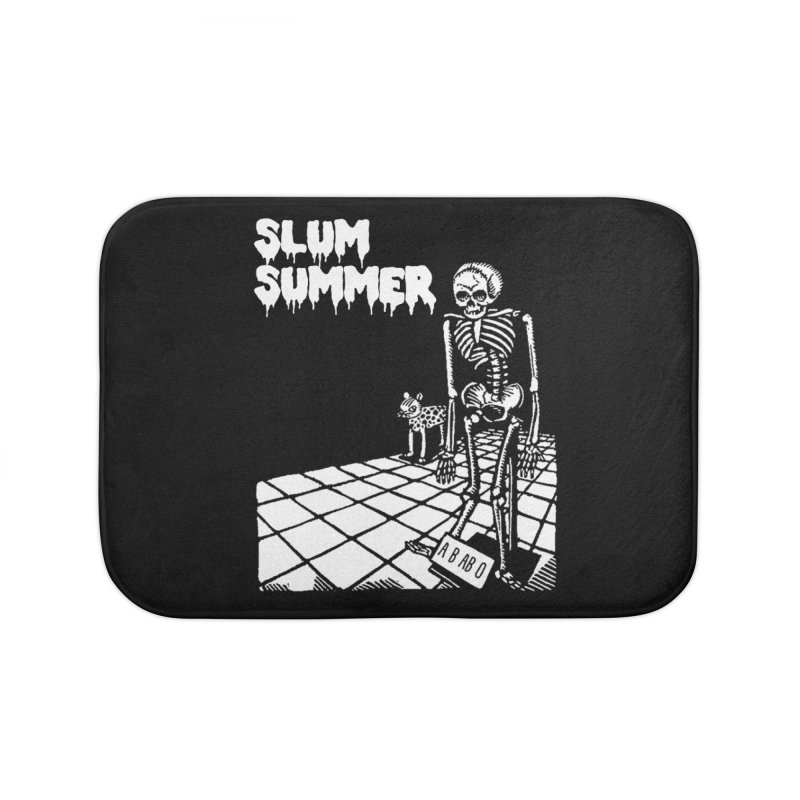 Skeleton ABABO Home Bath Mat by Slum Summer Merchandise