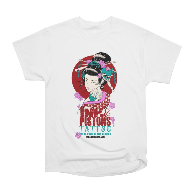 Ink and Pistons - Geisha Women's T-Shirt by Ink and Pistons   SlushBox