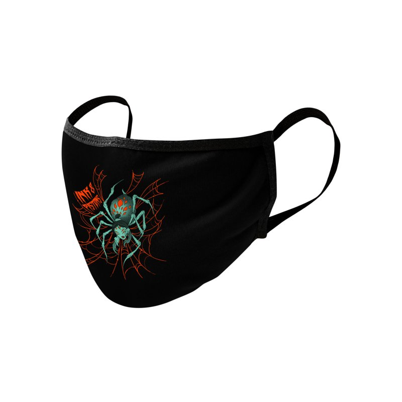 Ink and Pistons - Jorogumo Spider Accessories Face Mask by Ink and Pistons   SlushBox