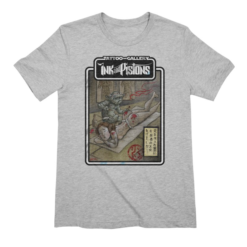 Ink and Pistons: Irezumi Wars Men's T-Shirt by Ink and Pistons | SlushBox