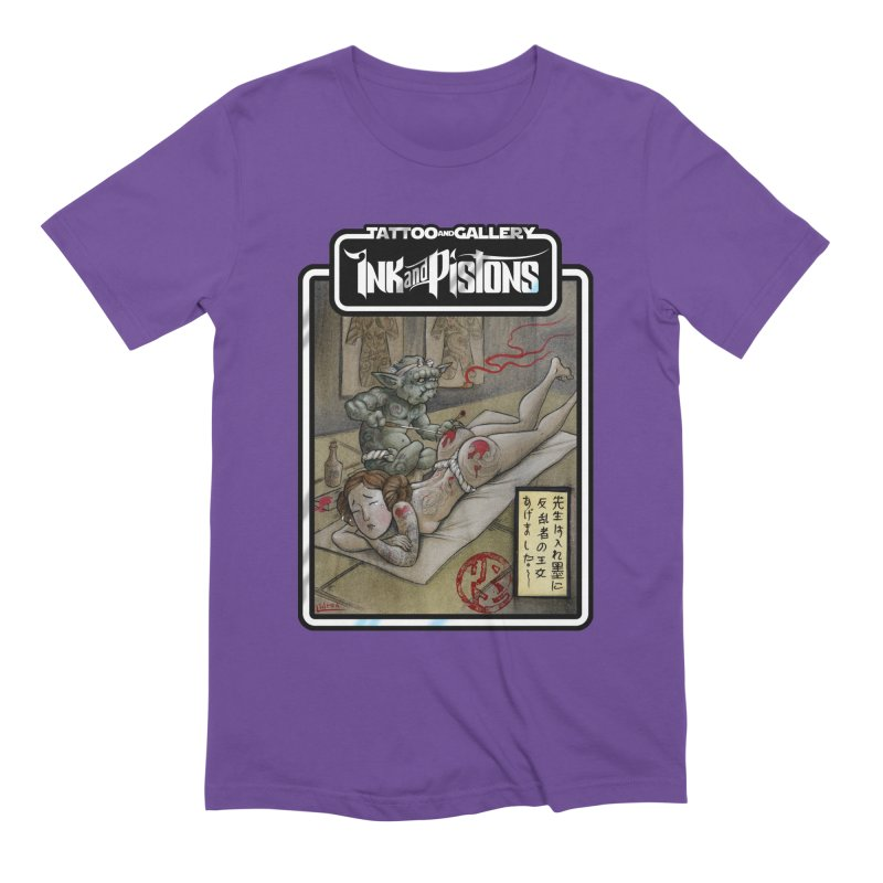 Ink and Pistons: Irezumi Wars Men's T-Shirt by Ink and Pistons   SlushBox