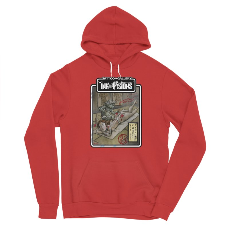 Ink and Pistons: Irezumi Wars Women's Pullover Hoody by Ink and Pistons | SlushBox