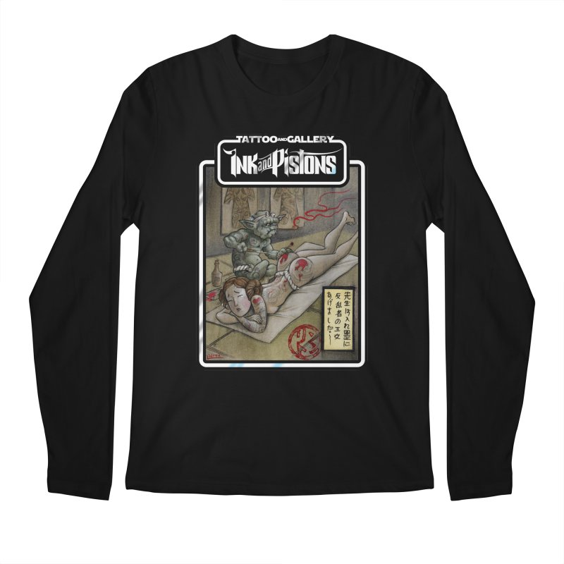 Ink and Pistons: Irezumi Wars Men's Longsleeve T-Shirt by Ink and Pistons | SlushBox