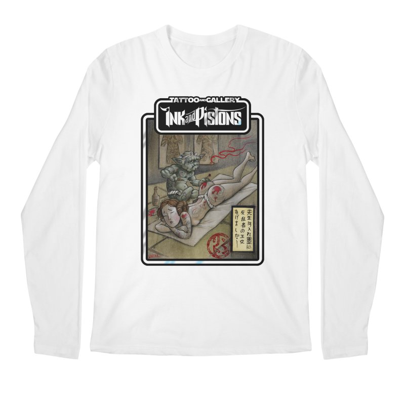 Ink and Pistons: Irezumi Wars Men's Longsleeve T-Shirt by Ink and Pistons | SlushBox