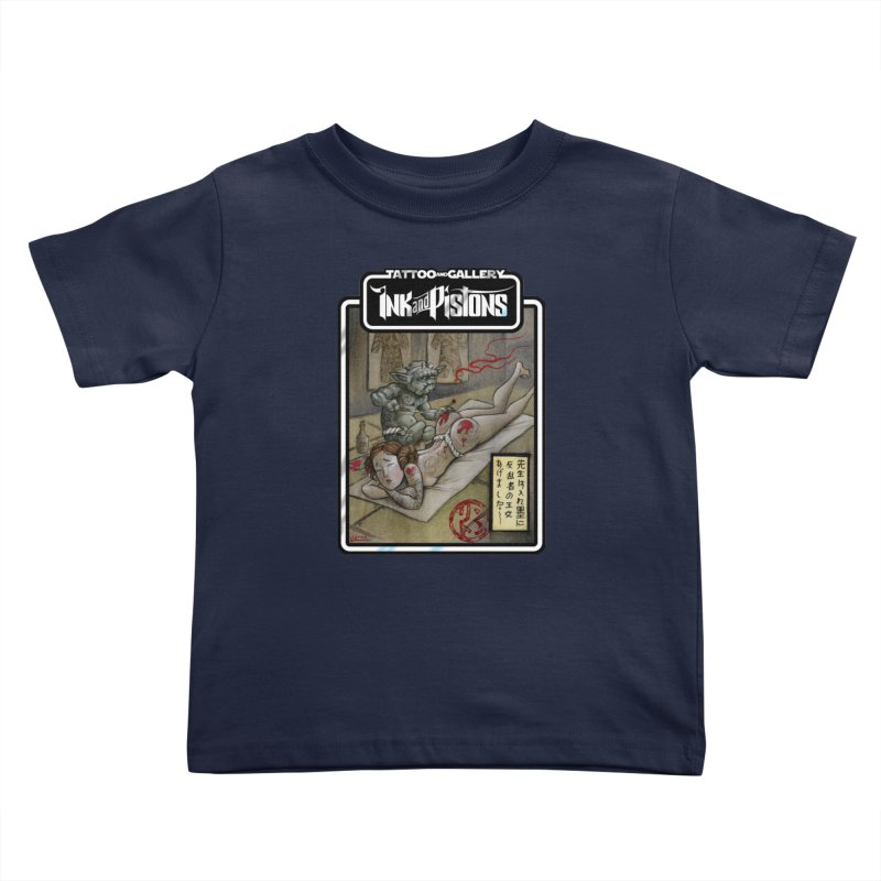 Ink and Pistons: Irezumi Wars Kids Toddler T-Shirt by Ink and Pistons   SlushBox