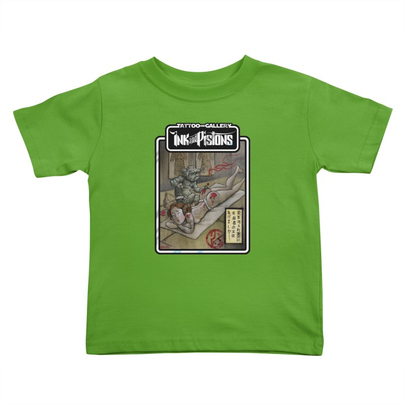 Ink and Pistons: Irezumi Wars Kids Toddler T-Shirt by Ink and Pistons | SlushBox