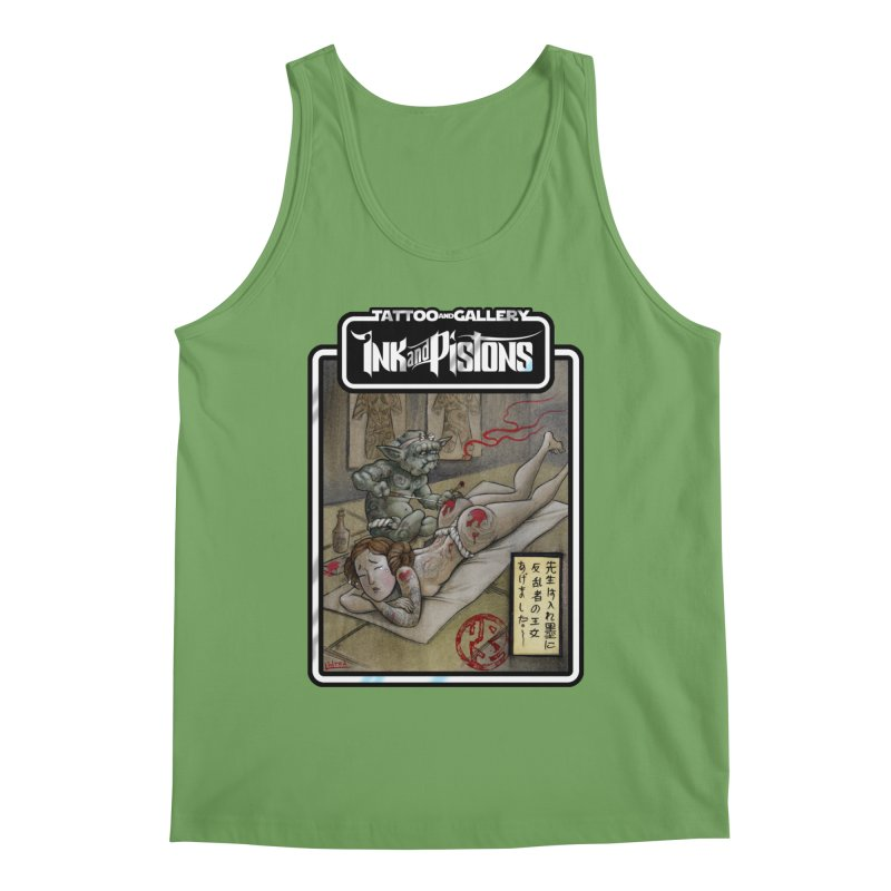 Ink and Pistons: Irezumi Wars Men's Tank by Ink and Pistons | SlushBox