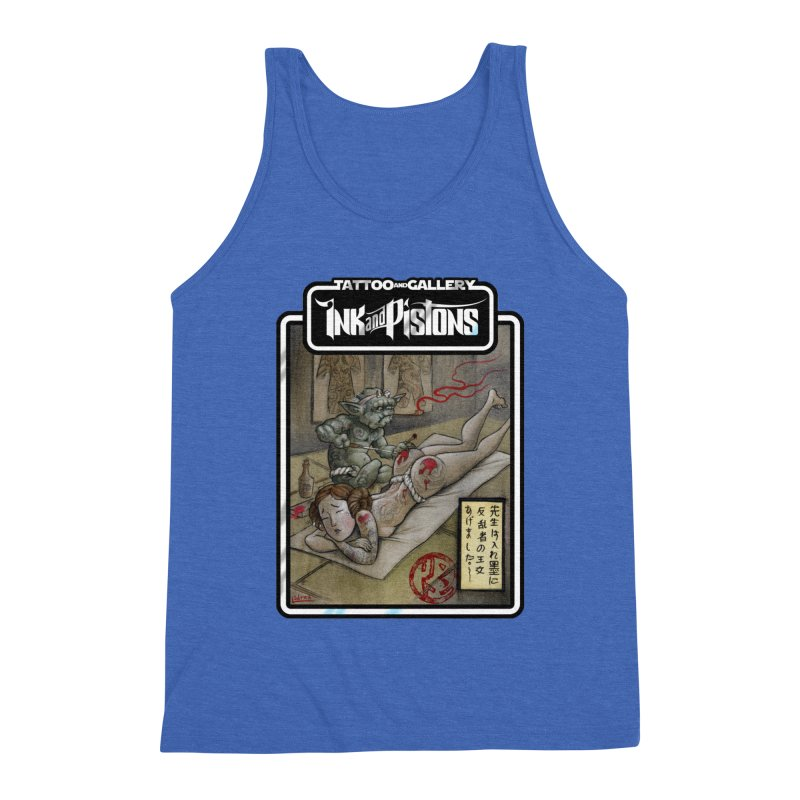 Ink and Pistons: Irezumi Wars Men's Tank by Ink and Pistons   SlushBox