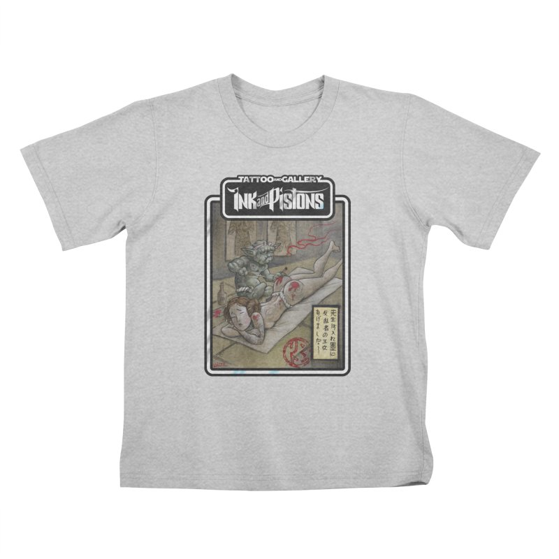 Ink and Pistons: Irezumi Wars Kids T-Shirt by Ink and Pistons   SlushBox