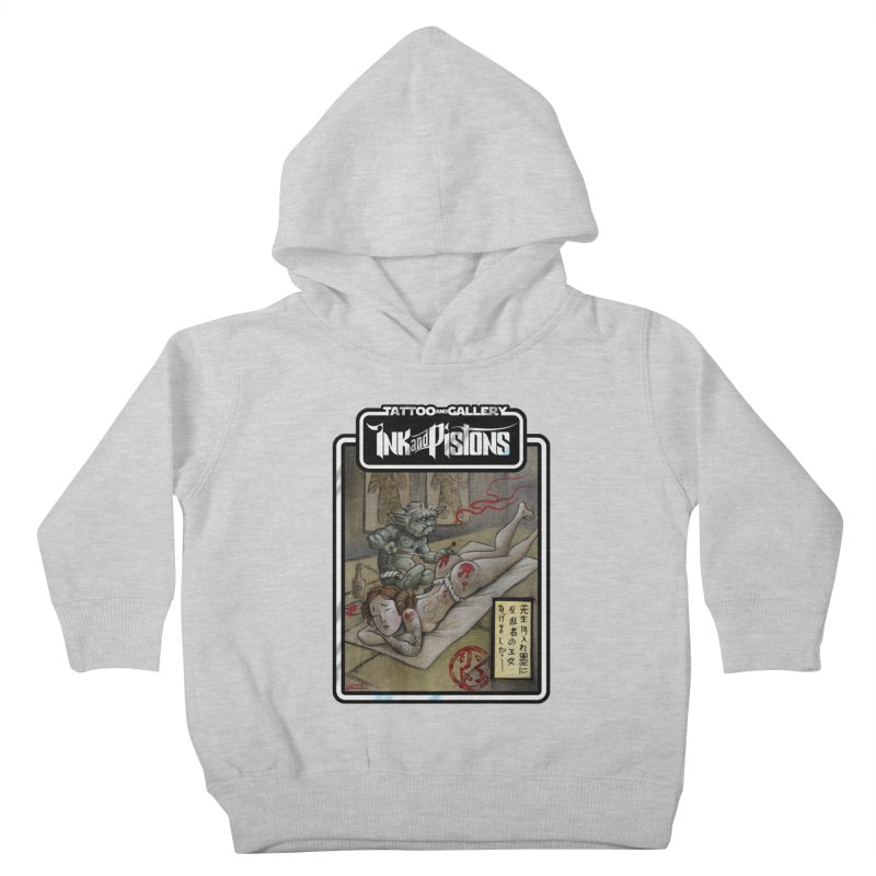 Ink and Pistons: Irezumi Wars Kids Toddler Pullover Hoody by Ink and Pistons | SlushBox