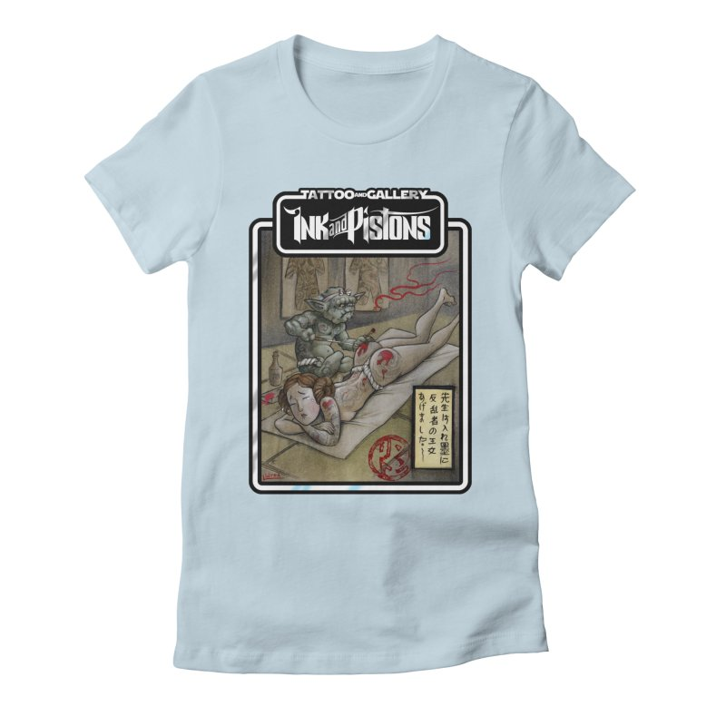 Ink and Pistons: Irezumi Wars Women's T-Shirt by Ink and Pistons   SlushBox