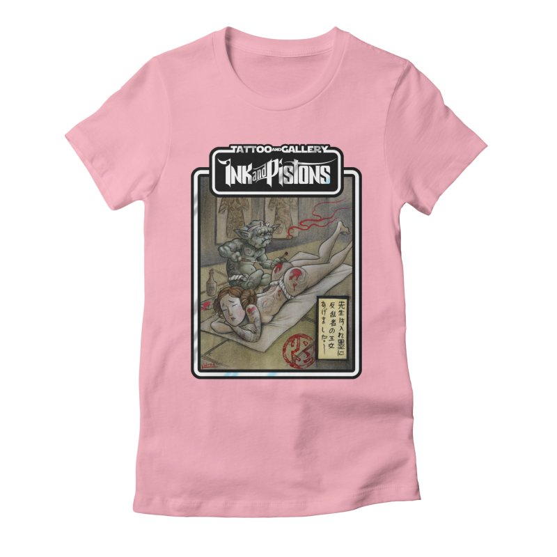 Ink and Pistons: Irezumi Wars Women's T-Shirt by Ink and Pistons | SlushBox