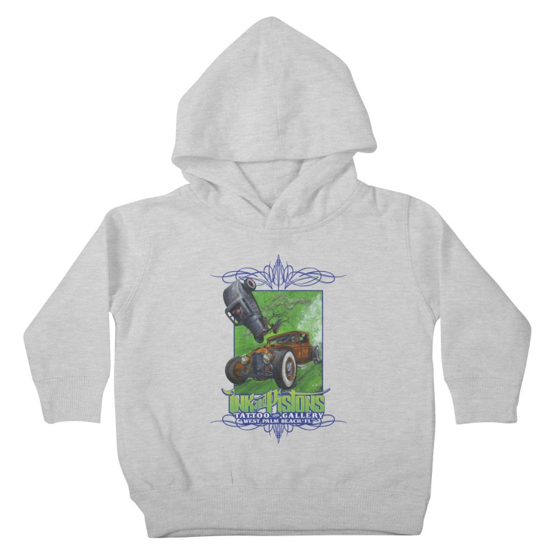 Ink and Pistons: Bottoms Up Kids Toddler Pullover Hoody by Ink and Pistons | SlushBox