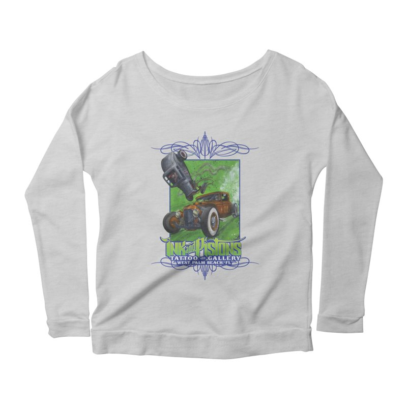 Ink and Pistons: Bottoms Up Women's Longsleeve T-Shirt by Ink and Pistons   SlushBox