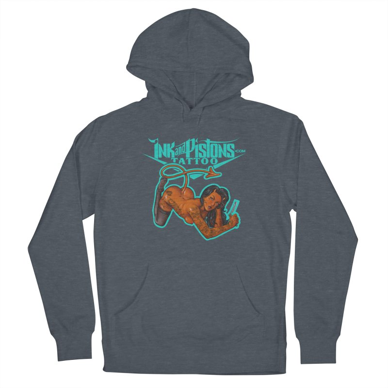 Ink and Pistons: The Devil Made Me Do It Men's Pullover Hoody by Ink and Pistons | SlushBox